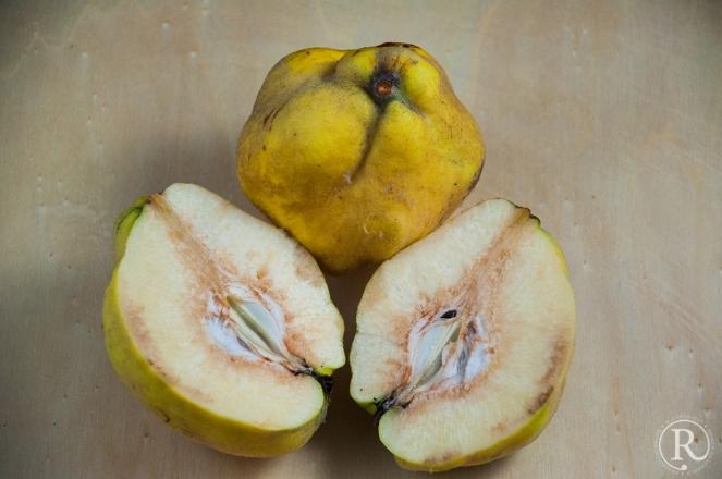 eine sehr hartnäckige Frucht - die Quitte