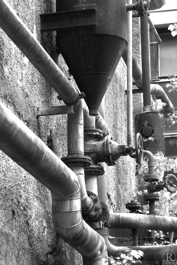 Industriebrache, Papierfabrik, Weisenbach