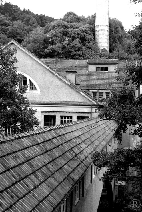 Alte Papierfabrik in der Emisau, Weisenbach im Murgtal