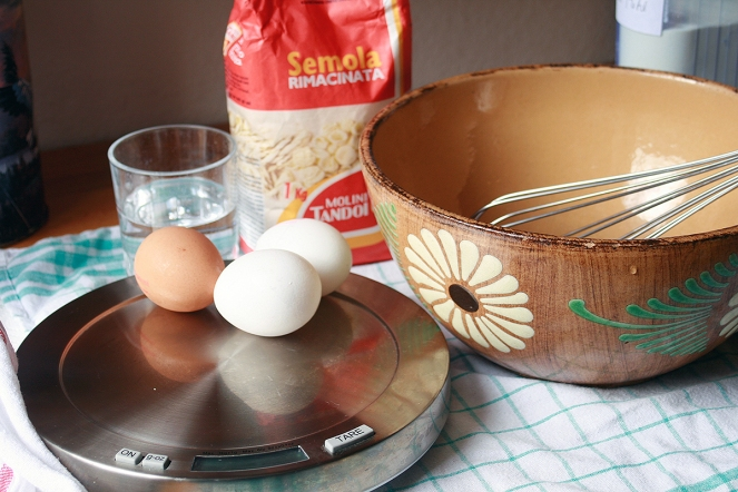 Eier, Mehl, Wasser, Salz - mehr braucht es nicht für Spätzle