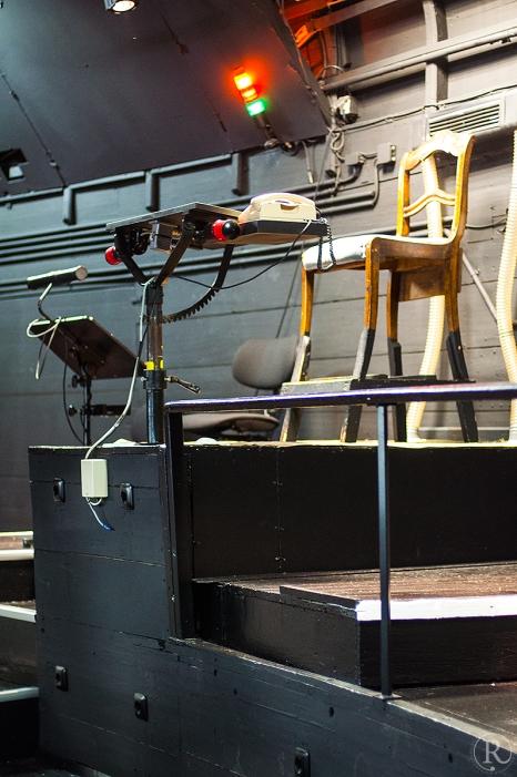 Bayreuth Wagner Open House Technik Dirigentenstuhl Orchestergraben