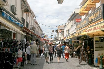 Die Einkaufs-Mall von Grau-du-Roi