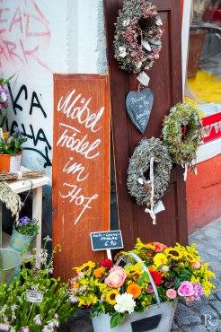 Dresden Neustadt Hinterhofladen Cottage Trödel