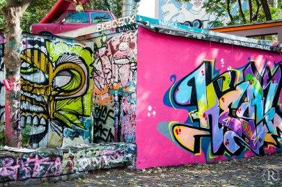 Dresden Neustadt Graffitti