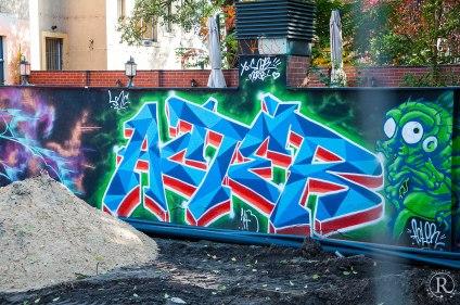 Dresden Neustadt Graffitti-Künstler
