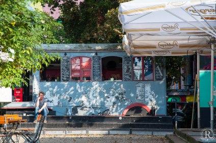 Dresden Neustadt - die etwas andere Würstchenbude