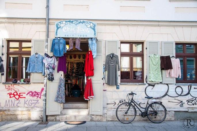 Dresden Neustadt - der etwas andere Secondhand-Shop - Chic-Saal