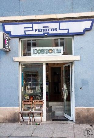 Dresden Neustadt Plattenladen