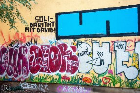 Dresden Neustadt Graffitti Solidarität