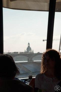 Dresden Elbufer Schifffahrt