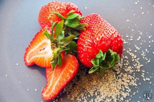 Erdbeeren gibt es bis Mitte Juli