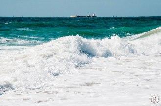 Der Strand von Chiclana de la Frontera - die Festung