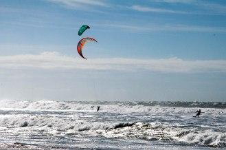 Der Strand von Chiclana de la Frontera - Seaside Surfer