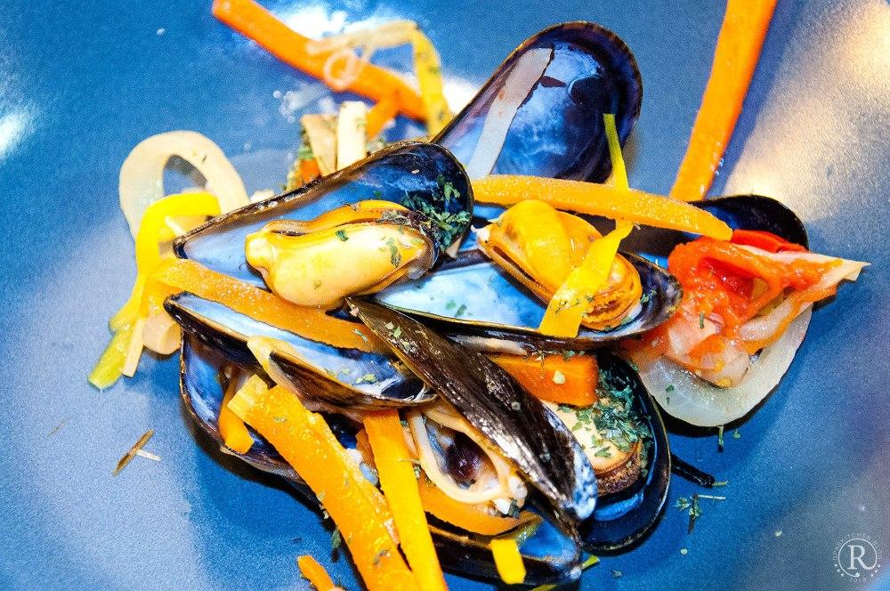Marienierte Muscheln - mejillones marinados