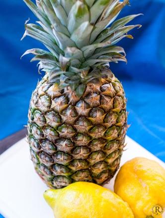 Ananas und Zitrone - ein leckeres Gelee