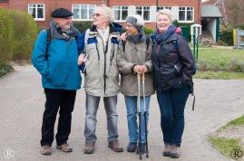 Vier Badner (der Schwabe 2. von links wurde adoptiert)