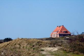 Ein Haus in den Dünen,