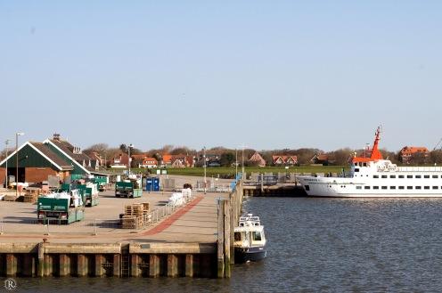 Letzter Tag, Spiekeroog Hafen, Abfahrt nach Neuharlingersiel