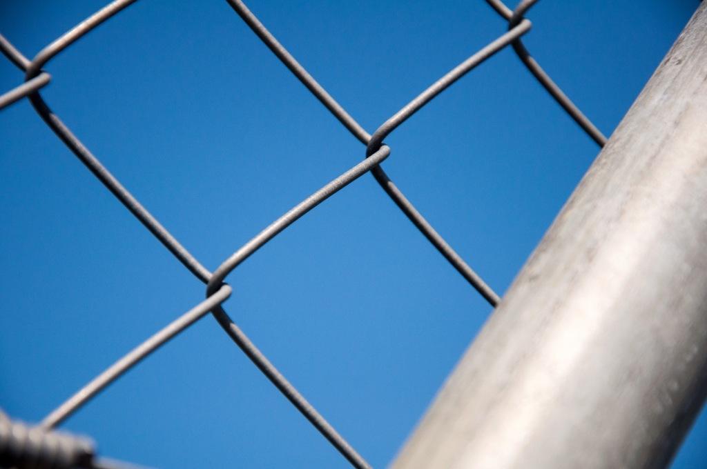 Flughafen Zuerich hinter Gittern